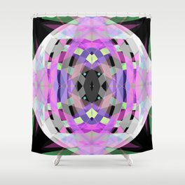 Heart of glas Shower Curtain