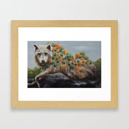 Thriving Conjecture Framed Art Print