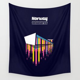 Norway - the path of the trolls Wall Tapestry