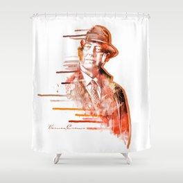 The Blacklist - Raymond Reddington Shower Curtain