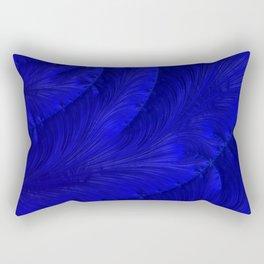 Renaissance Blue Rectangular Pillow