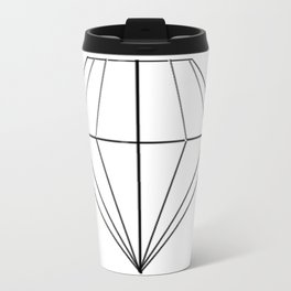 Diamond Metal Travel Mug