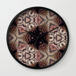 Mix of Mutated Patterns Var. 4 Wall Clock