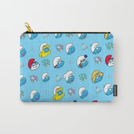 Smurfs Pattern Carry-All Pouch
