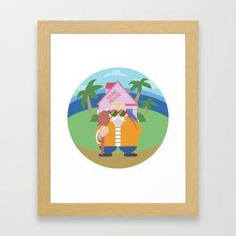 Roshi Framed Art Print
