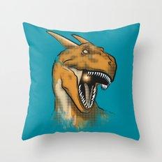Charisaurus Rex Throw Pillow