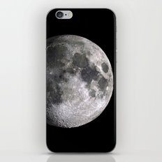 The Full Moon Super Detailed Print iPhone & iPod Skin