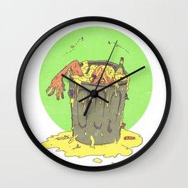 Scum Bucket Wall Clock