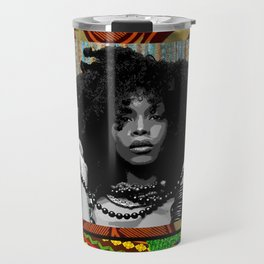 Earthy Badu Travel Mug