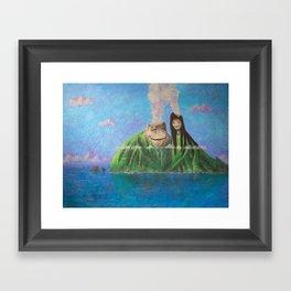 I Lava You Framed Art Print