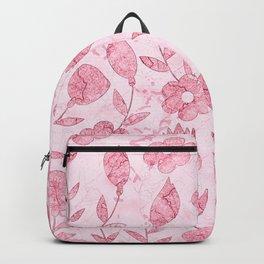 Watercolor Floral II Backpack