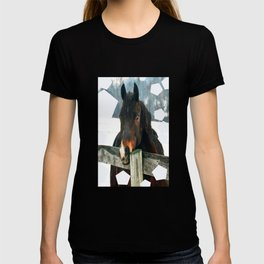 Thoughtful Horse T-shirt