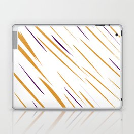 design gold lines Laptop & iPad Skin