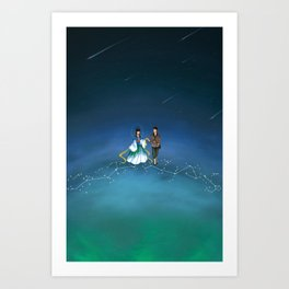 The Legend of the Milky Way Art Print
