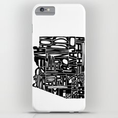 Typographic Arizona Slim Case iPhone 6 Plus