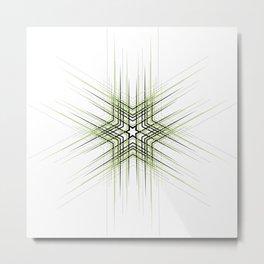 Green Affiche Scandinave design, modern minimalist art Metal Print