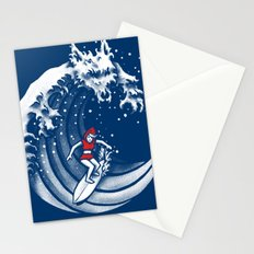 Little Red Surfing Hood Stationery Cards