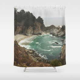 Big Sur - Julia Pfeiffer Shower Curtain