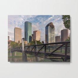 Houston over the bayou! Metal Print