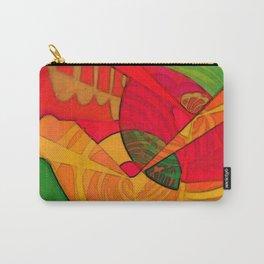 Tropical Farm Woman Carry-All Pouch