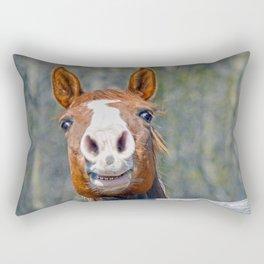 Horse Humour Rectangular Pillow