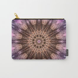 Purple crocus mandala Carry-All Pouch