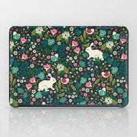 friends iPad Cases featuring Forest Friends by Anna Deegan