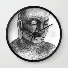 Fragments of Peace Wall Clock