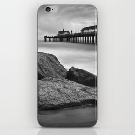 Southwold Pier and Rocks, Suffolk iPhone Skin