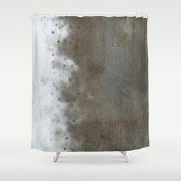 Cement Shower Curtain