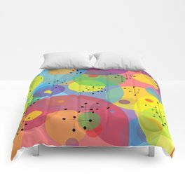 Retro Abstract 1 Comforters