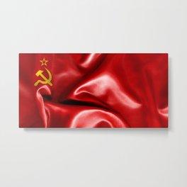 Soviet Union Flag Metal Print