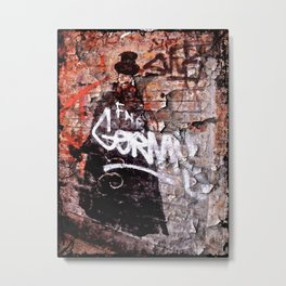 Jack the Ripper Metal Print