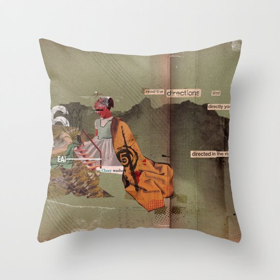 Read the Directions Throw Pillow