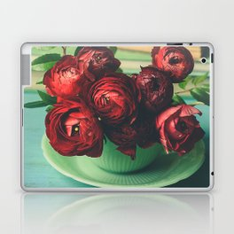 Books and Flowers Laptop & iPad Skin