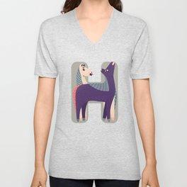 H for Horse Unisex V-Neck
