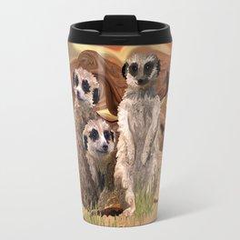 Three Meerly Meerkats  Travel Mug