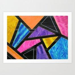 Colorful Shapes Art Print