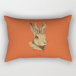 The Jackalope Rectangular Pillow