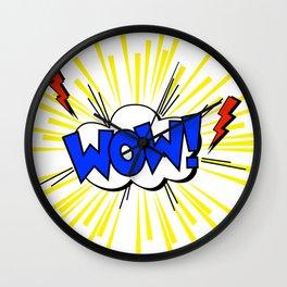 WOW ! Wall Clock