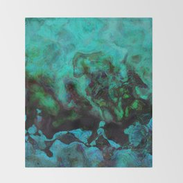Lysergic Drops Throw Blanket