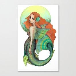 Atargatis, The First Mermaid Canvas Print
