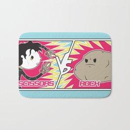 Scissors Vs Rock Bath Mat