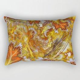 Autumn Mania Abstract Art Rectangular Pillow