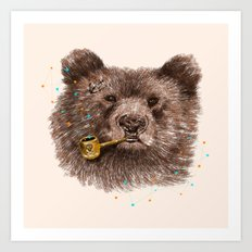 Sailor Bear II Art Print