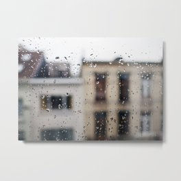 Mornings in Antwerp Metal Print