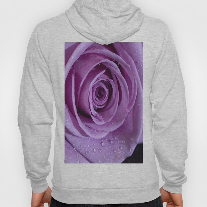 Purple Rose-3 Hoody