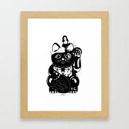 Wish Me Luck Framed Art Print