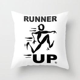 RUNNER UP Throw Pillow
