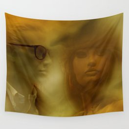 showcased - sepia Wall Tapestry